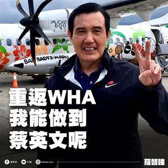 台灣再度缺席WHA 羅智強:事實證明馬比蔡強多了