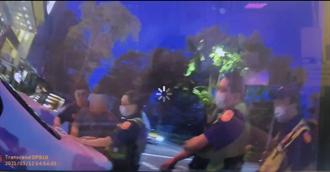 取締酒駕竟對媒體發飆 警方依法扣車及舉發