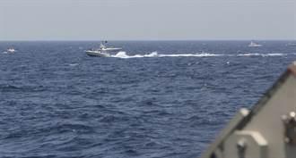 影》伊朗革命衛隊快艇騷擾 美曝鳴30槍示警實況