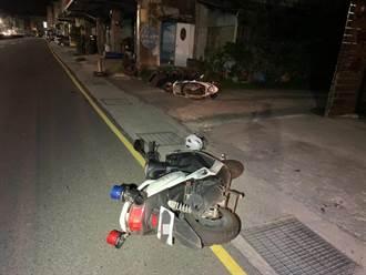 不顧車上年幼女兒 通緝犯騎車拒檢撞警 警開3槍制止逮人