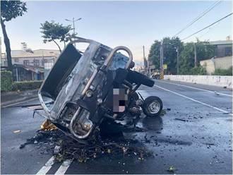 新園火燒車意外 肇事駕駛疑為通緝犯