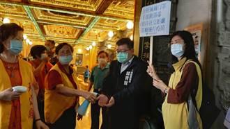 高市府民政局 向宗教團體宣導防疫措施