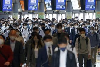 日本緊急事態擴大至6都府縣 首日出勤人潮未減
