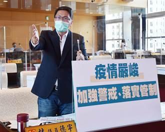 台灣疫情加溫 社會局:一旦進入三級警戒 市府有腹案