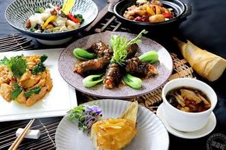 綠竹筍的季節 板橋凱撒家宴端出「筍食豐宴」美饌