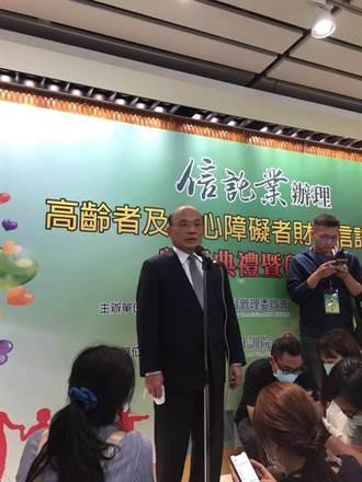 蘇貞昌赴台南成大視察全大運防疫措施 籲遵守防疫規範