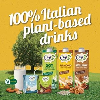 聚德富 代理義大利OraSi歐瑞仕植物奶