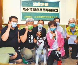 搶救毛孩 動物緊急用藥平台成立
