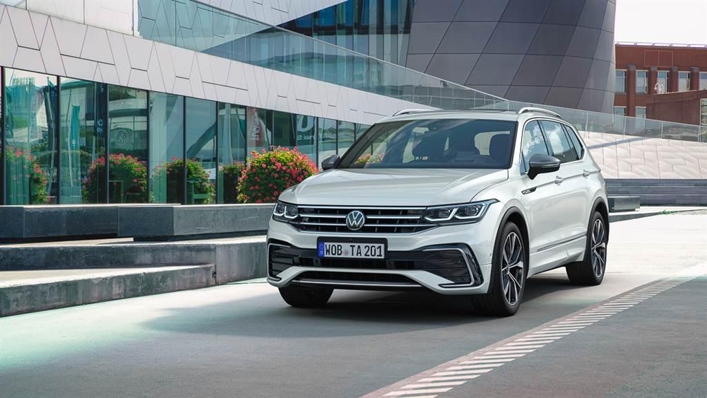 空間機能優先 Volkswagen 小改款 Tiguan Allspace 發表