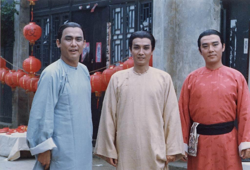 沈孟生在《八月桂花香》逐漸累積知名度。李立群(右)、劉松仁(中)、沈孟生(左)。(圖/中時資料照)