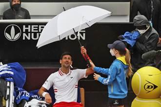 網球》喬帥情緒又失控 雨中比賽吼裁判:還想打多久?