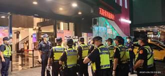 台中警方臨檢 宣導反酒駕兼堵防疫破口