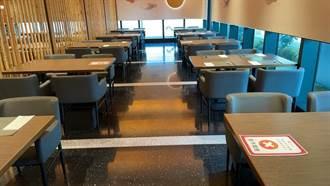 因應防疫超前部署 饗賓餐旅七大品牌全台46家分店採隔桌帶位