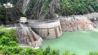 德基水庫停供1天水位略升31公分 今晨重啟閘門放水