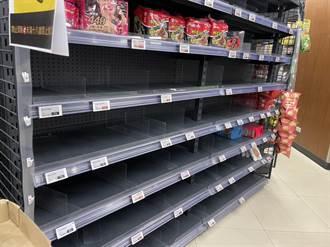 泡麵、罐頭、衛生紙被瘋搶 量販、超市銷量增4倍