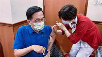 陈水扁完成疫苗接种 拍片呼吁全民踊跃施打