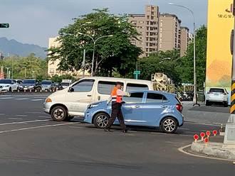【全台大停電】中市警啟動停電專案奏效 進行交通疏導