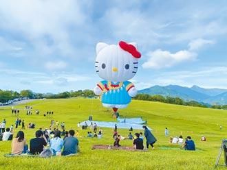 台東熱氣球嘉年華 視疫情調整 Hello Kitty首飛 增線上直播