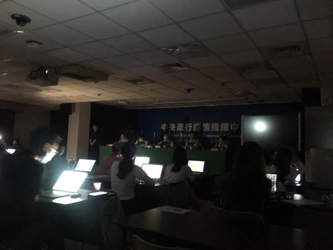 興達電廠跳機,連指揮中心也停電。(林周義攝)