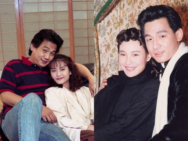 沈孟生的兩位著名女友:程秀瑛(左)、陳冲。(圖/中時資料照)