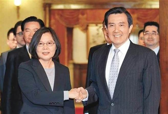 總統蔡英文、前總統馬英九。(圖/本報資料照,姚志平攝)