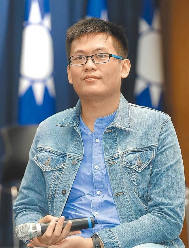 前國民黨青年團總團長、現任前鎮區青工會長呂謦煒。(資料照片)