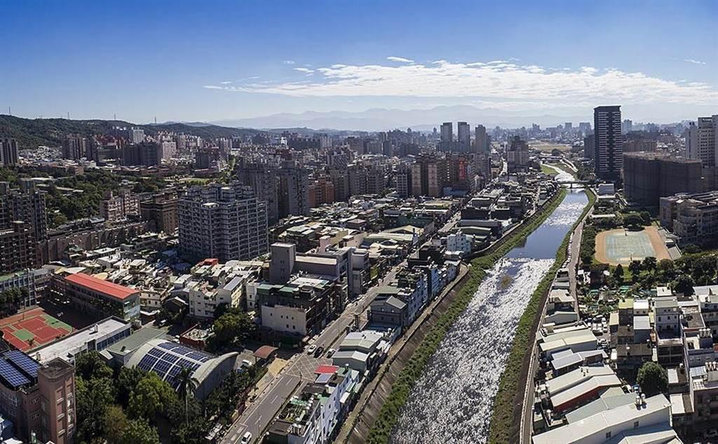 去年六都屋齡3年內的新成屋,平均房價已經都站上千萬元,圖為桃園南崁溪河岸。(業者提供)
