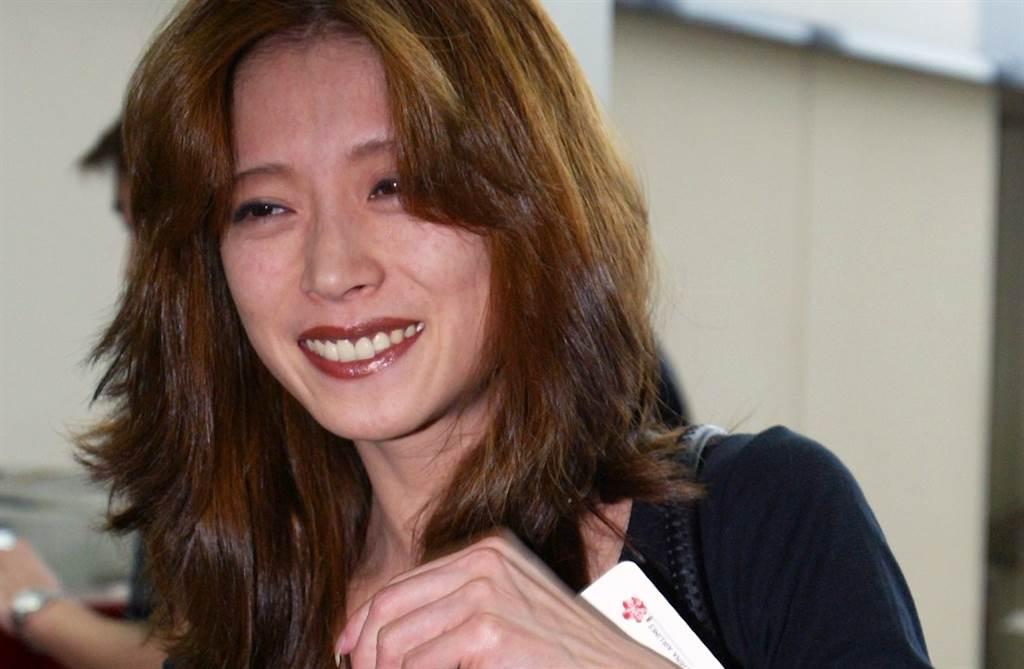 日本天后中森明菜2003年來台參加金曲獎。(本報系資料照)