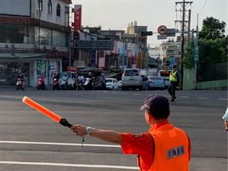 【全台大停電】台電興達電廠停機 楊梅分局極力指揮