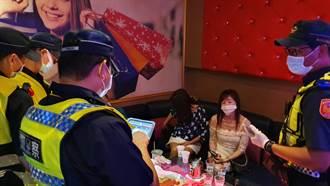 台南市7間警分局突擊8大業者實聯制 兩天查獲11家違規