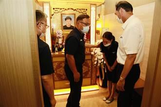 新北海山警分局巡佐因病逝世 分局全力協助治喪事宜