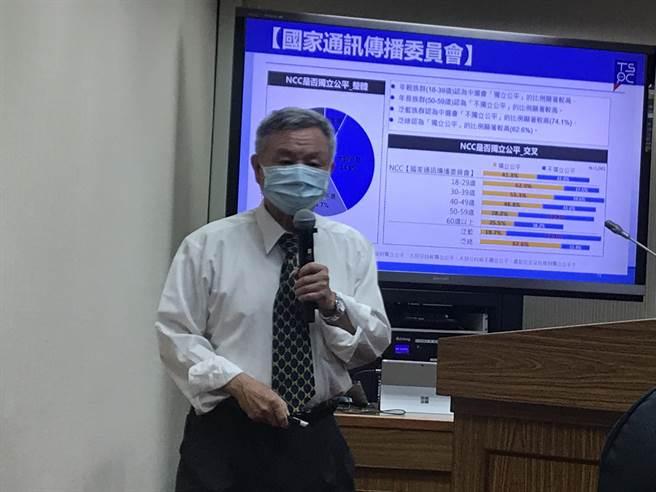 楊志良批蔡英文分裂台灣 府:這種話對防疫沒有幫助。曾薏蘋攝