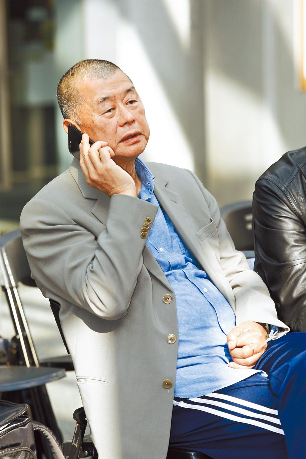 港府根據國安法,凍結黎智英持有的壹傳媒7成股份,估計逾3億港元(約合台幣10.8億元)。(本報資料照片)