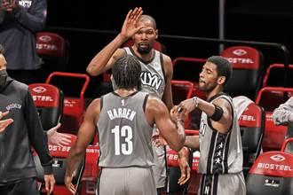 NBA》籃網主帥預告三巨頭明合體 哈登時間受限