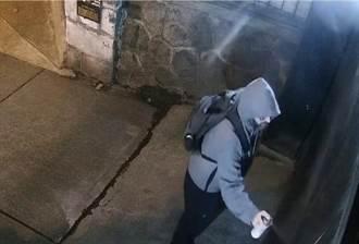 中國駐加拿大總領館連遭噴塗 嫌犯穿蝙蝠俠圖案衣