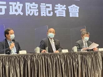幕後》暴增180例確診 蘇貞昌連開跨部會議拍板雙北提升三級警戒