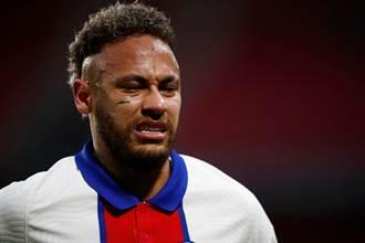 足球》巴黎麻煩大了 內馬吞爭議黃牌將缺席法國盃決賽