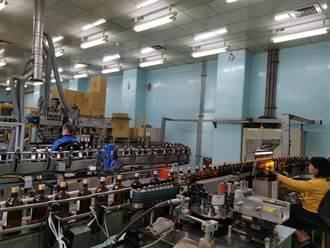 隆田酒廠下周將投入酒精國家隊 日產7萬2000瓶