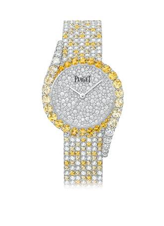 鑲鑽腕表耀眼迷人 新富族群配件 展示財富品味