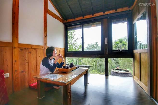 日式建築散發濃濃時代感,彷彿來到日本的山中度假。(圖/行遍天下提供)