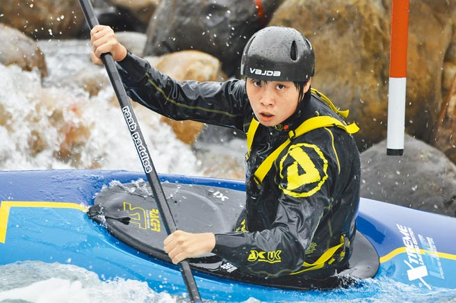 台灣輕艇好手張筑涵奪下東京奧運門票。(中華民國輕艇協會提供)