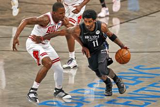 NBA》籃網三巨頭重聚再先發 宰掉公牛卻靠替補