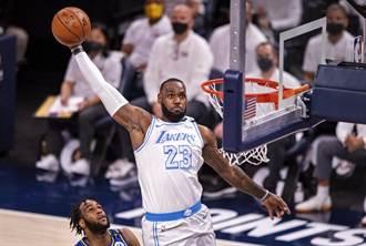NBA》詹皇復出湖人退溜馬 續保爭搶西區第6希望