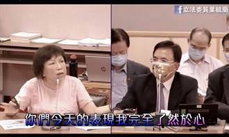 葉毓蘭》竟違法濫權把責任推給警察?!
