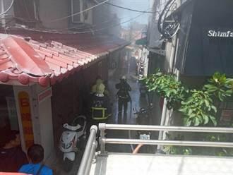 金門城區住宅火警 濃煙嚇人幸均無恙