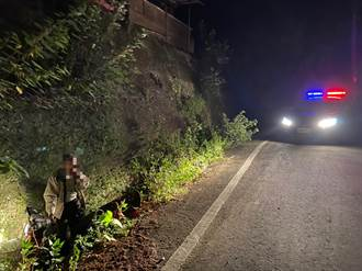 8旬老翁騎車百公里迷失苗14線山區  頭份警助返家
