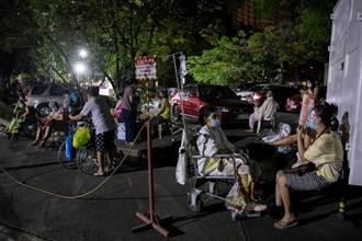 菲律賓新冠專責醫院失火 病患摸黑逃離