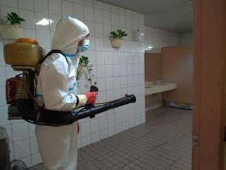 防疫嚴防破口 台中市政大樓再加嚴預防性公共空間消毒