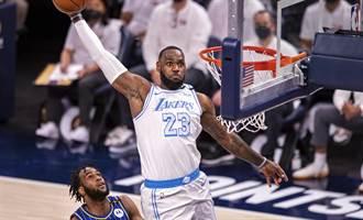 NBA》西區第六爭奪戰 湖人 拓荒者將力拚季後賽門票