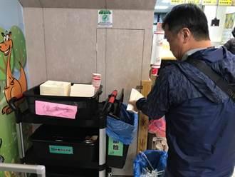 基市環保局輔導便當店設置紙餐具回收桶 7月開罰